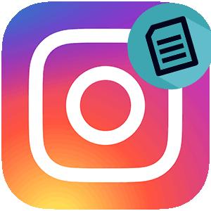 Архив в Инстаграме логотип