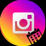Дата регистрации Инстаграма логотип