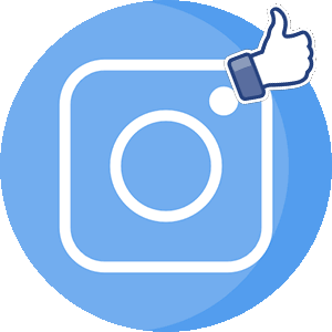 Инстаграм лайки логотип