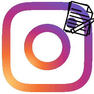Инстаграм репорт логотип