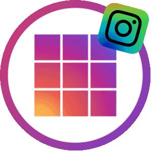 Grid Maker логотип для Инстаграма