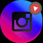 Инстаграм обработка видео логотип