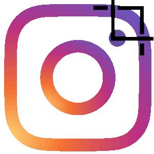 Инстаграм обрезать фотографию логотип