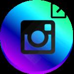Инстаграм поделиться ссылкой логотип