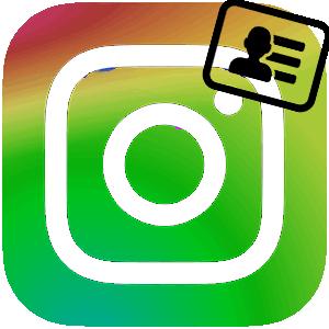Изменить имя в Инстаграме логотип