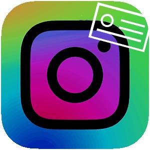 Никнейм в Инстаграме логотип