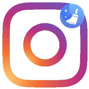 Очистить кеш Инстаграма логотип