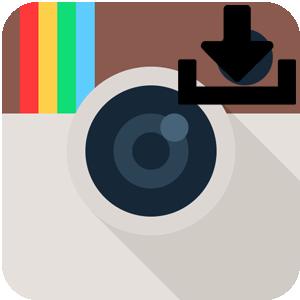 Скачать фото из Инстаграм логотип