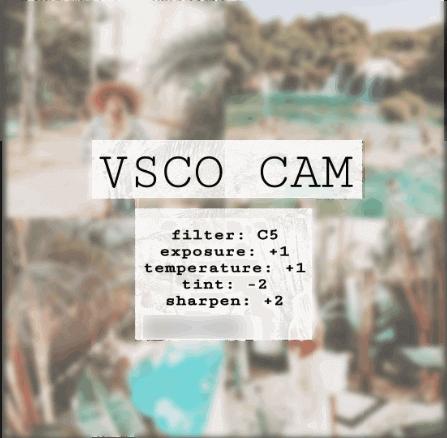Туториал для VSCO Инстаграм