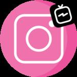 IGTV в Инстаграме логотип