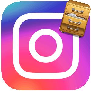 Инстаграм архив логотип
