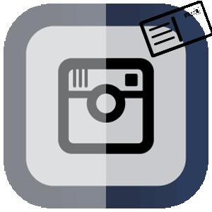Инстаграм открытки логотип