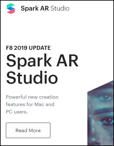 Сайт Spark Ar для масок в Инстаграм