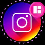 Инстаграм коллажи логотип