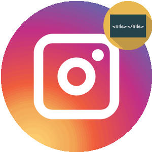 Правильное название Инстаграма логотип