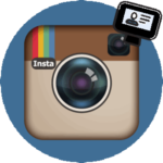 Регистрация в Инстаграме логотип