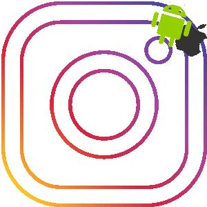 Скачать Android и iOS Инстаграма логотип
