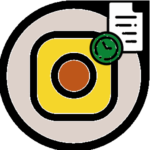 Инстаграм черновики логотип