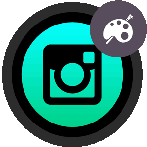 Бесконечная лента в Инстаграме логотип