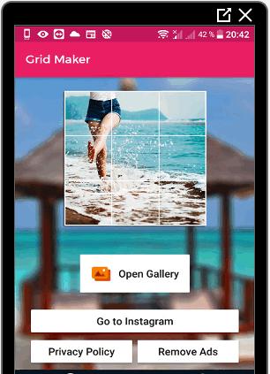 Приложение Grid Maker