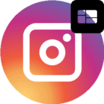 Темная тема в Инстаграме логотип