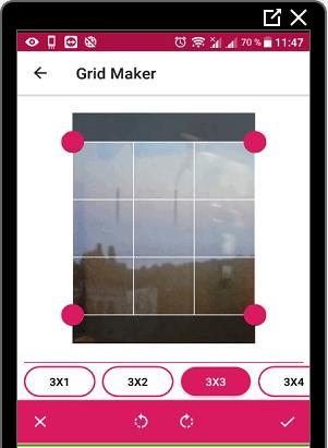 Grid Maker для Инстаграма