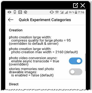 Создание фото и видео в оригинальном качестве Инстаграм