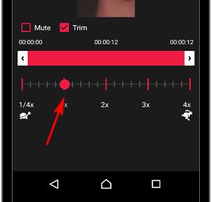 Ускорить видео в Инстаграме