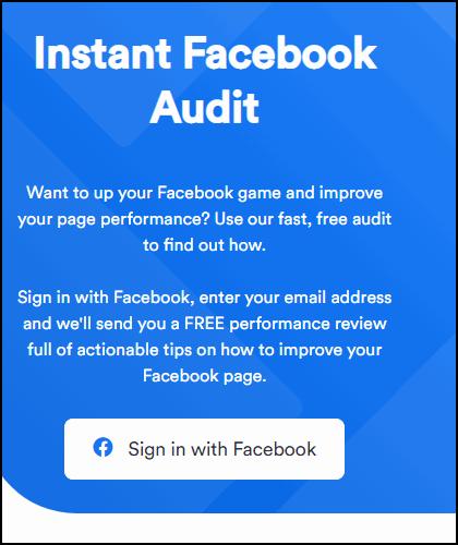 Аудит профиля для Фейсбука