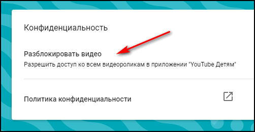 Заблокировать видео в Ютубе