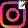 Копировать комментарии в Инстаграма логотип